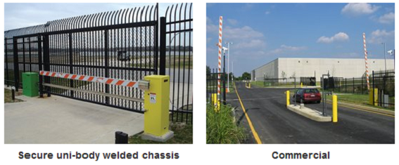 Faac industrial barrier gates