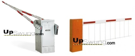 automatic boom barrier gates